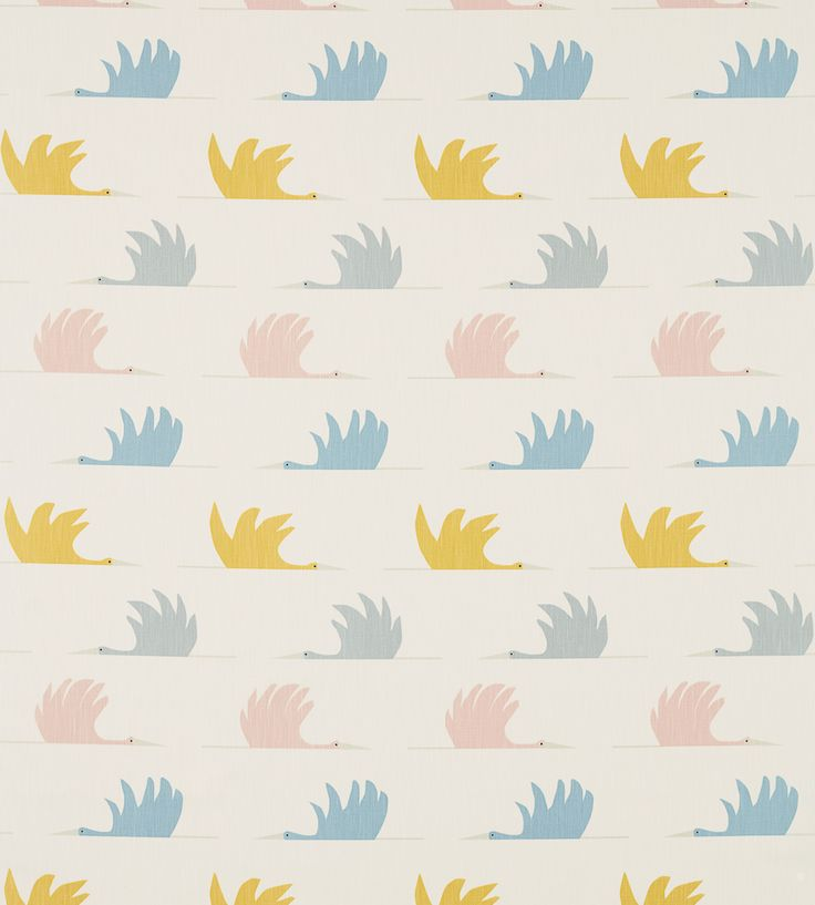 How To Style Nurseries | Colin Crane Fabric by Scion | Jane Clayton