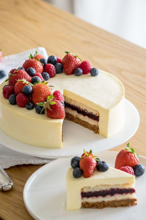 La recette de l'entremets cheesecake de Sébastien Bouillet