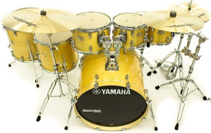 """Bateria Yamaha Stage Custom Birch Natural Lacquer 20"""",8"""",10"""",12"""",14"""",16"""" (Shell Pack) : DEPARTAMENTOS - Baterias - Acústicas : Batera Clube : A 1ª Drum Shop Online do Brasil"""