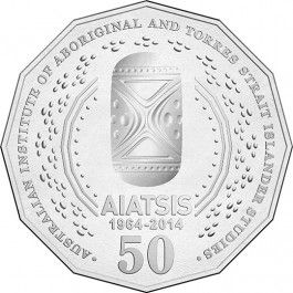 2014 50c @AIATSIS Anniversary Circulated #Coin #Mint Roll. #Exclusive! Struck by @RoyalAusMint, the 2014 50c AIATSIS Anniversary Circulated Coin Mint Rolls are available only through authorised distributors.