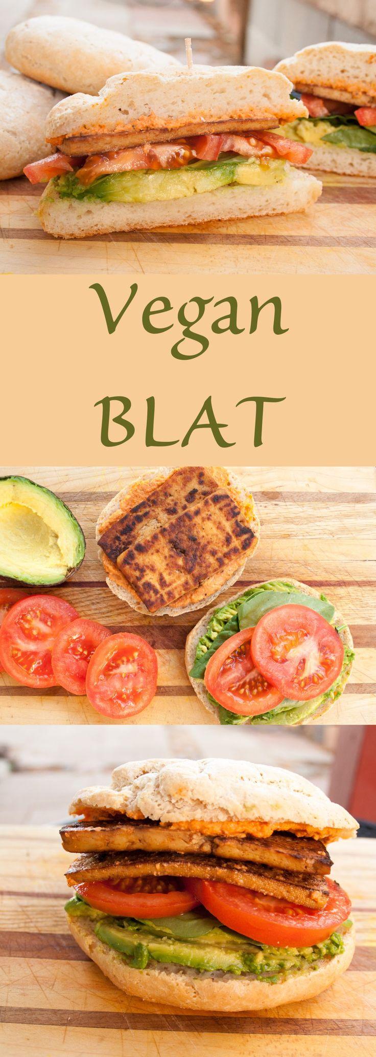 Vegan BLAT - This vegan sandwich is so good, you won't miss the bacon!