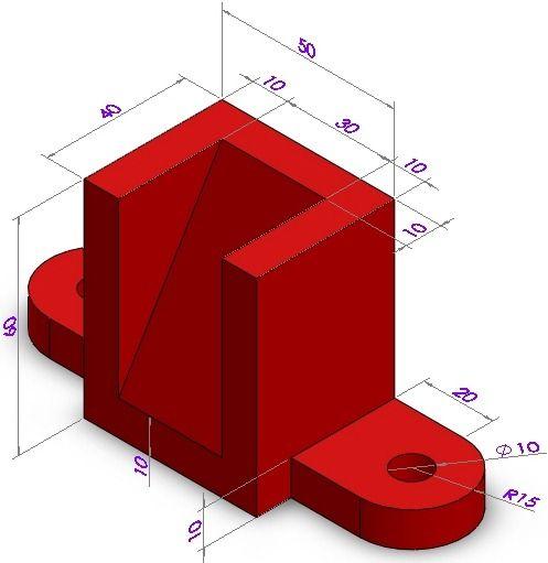Pro Engineer Exercises | Pro Engineer 3D CAD | | Mechanical Engineering