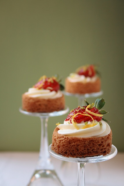do you need a small cake stand? :)
