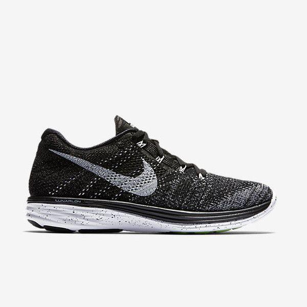 Nike Flyknit Lunar 3 Μαύρο/Γκρι νύχτας/Λευκό Ανδρικά και Γυναικεία Παπούτσια για Τρέξιμο