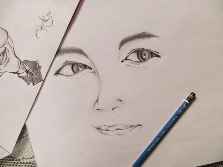Cara menggambar wajah manusia - Banyak cara untuk melukis yang bisa kamu coba... sebelum lanjut menjadi mahir, marilah kita belajar menggambar dari dasar..