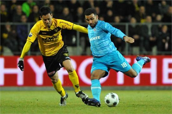 Heracles Almelo liet zich aftroeven in Venlo. Het werd 3-1 voor VVV. 25-02-2012