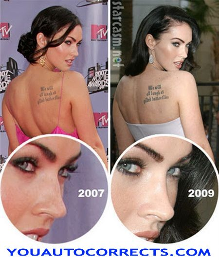 Megan Fox Before and After Plastic Surgery (PHOTOS)