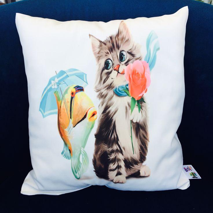 #cat #cats #fish #cute #pillows #hobby #art #bandırma #elden #teslim #bizi #tercih #ettiğiniz #için #thankyou #burak #bey