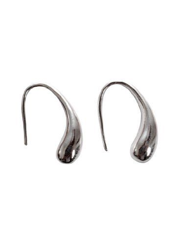 """JousJous Silver Plated Drop Earrings JousJous. $40.00. These stunning tear drop earrings are ideal for elegantly adorning any look with classic glamour. Update your jewellery collection and see the season through in style!. Silver Plated Drop Earring. Fish hook ear wire, 1"""" Long. A portion of each sale at JousJous is donated to Earlier to assist in funding critical breast cancer research."""