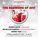 "@Regrann from @nagaswaraofficial  -  Tomorrow Gaes 31 January 2017 Special Moment For ""The Beginning Of 2017"" New Realese Of :  Zaskia Gotik -""Ora Ndueni""  Delon & Siti Badriah -""Cinta Tak Harus Memiliki""  Sherly May - ""Kumis""  Location : Al Jazeerah Signature Restaurant & Lounge""  Time : 2pm  #NAGASWARA #artis #singer #New #Release #Launching #Music #Dangdut #Pop #Koplo #Famous #lifestyle #Beautiful #Penyanyi #Indonesia #World #Entertainment  - #regrann"