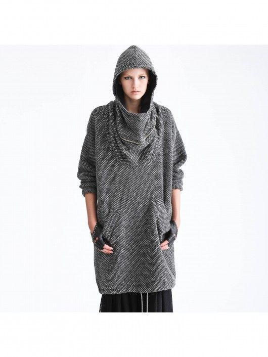 FOLLOW ME. wool sweater