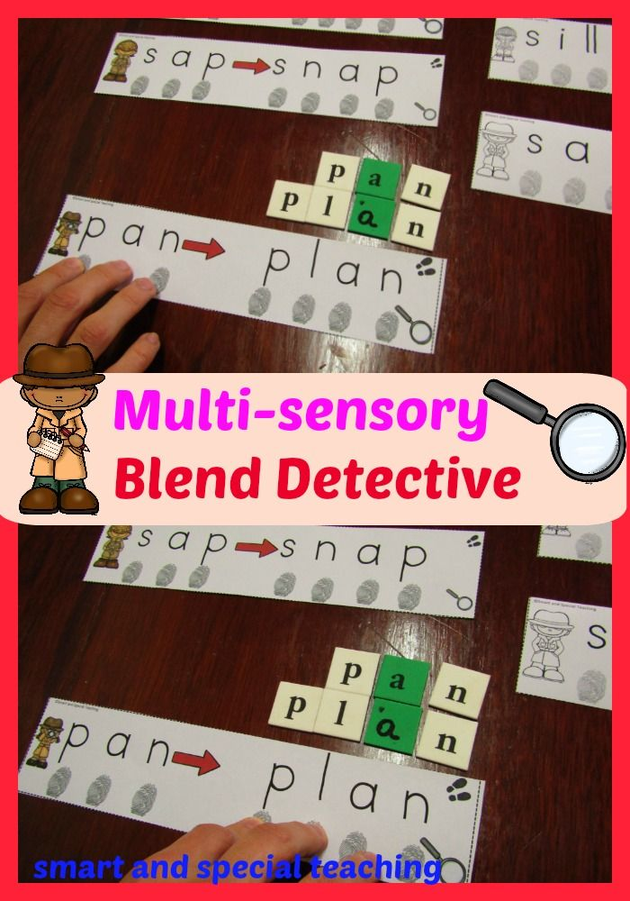 """These cards are great dyslexia activities, or for beginning readers. I created these cards and worksheets to encourage my struggling readers to """"tap out"""" the sounds and to see and hear the change from a CVC word to a CCVC in an entertaining way. These reading activities focus on beginning blends."""