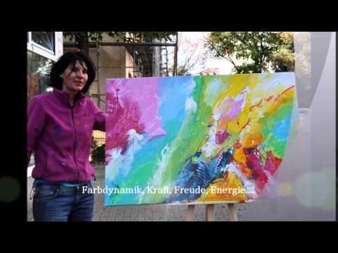 Abstrakte Bilder von Irina Eirich - YouTube