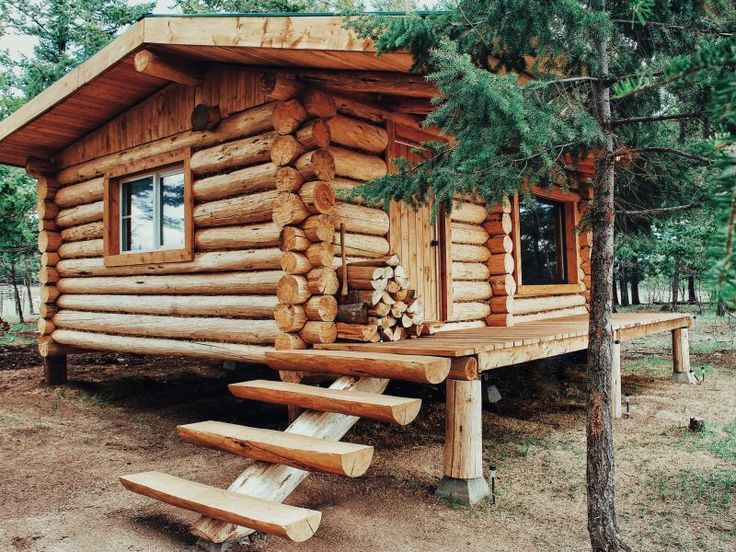 Splendid Concepts to build your dream log cabins i…