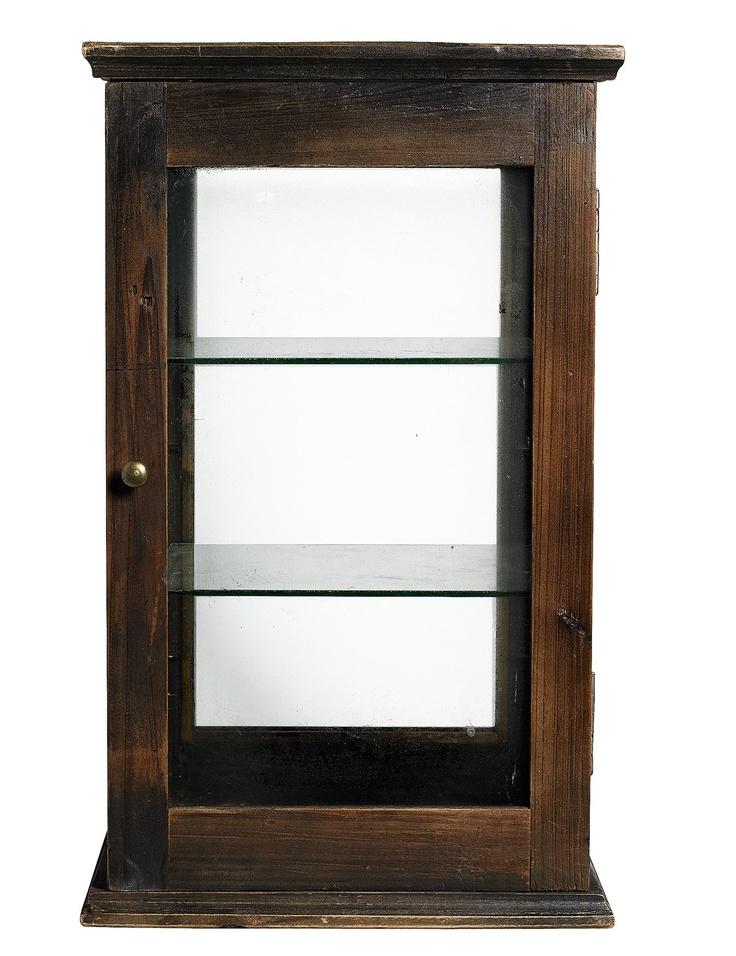 Vitrina RAW / Wooden Vitrine RAW