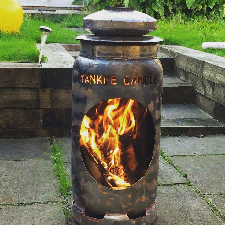 Woodburner yankee candle