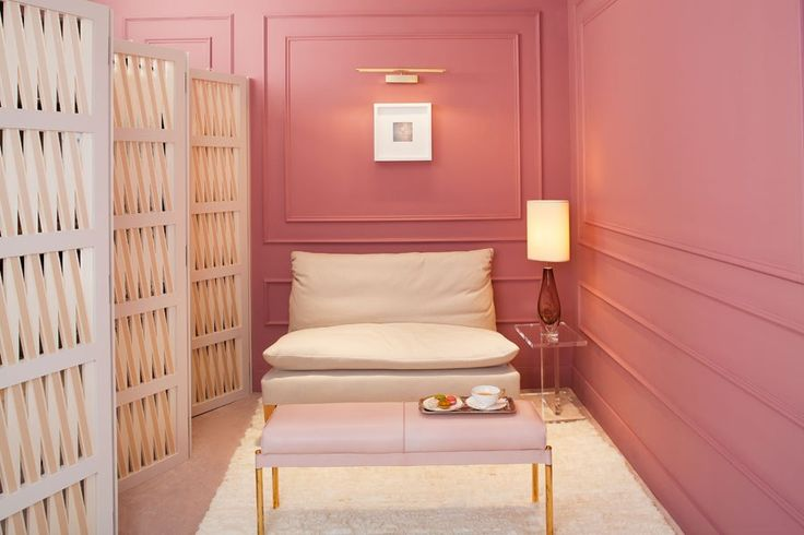 color, pastel bench for master closet