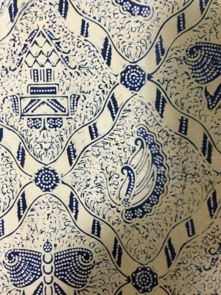 Jogjakarta antique batik