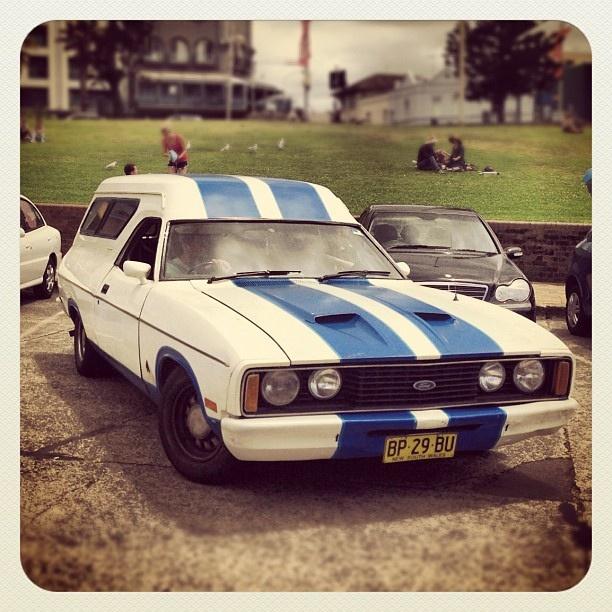 Bondi Panel Van Prowess #car #Ford #atbondi #bondi #sydney #Falcon