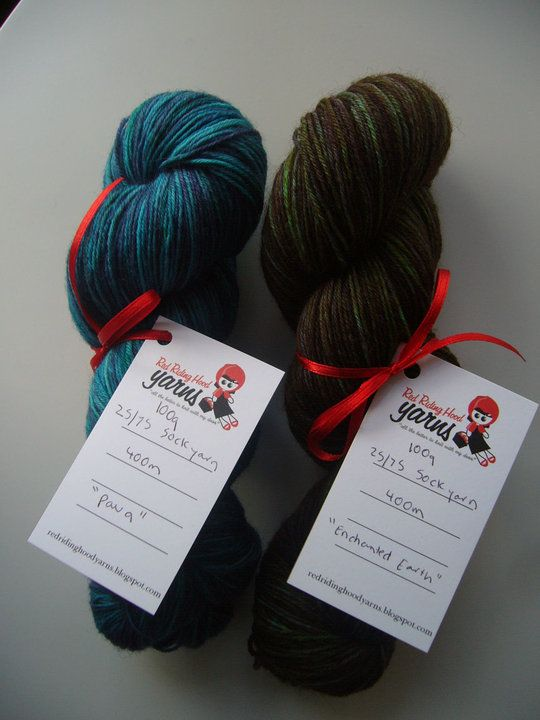 Paua and Enchanted Earth - First Order | Red Riding Hood Yarns