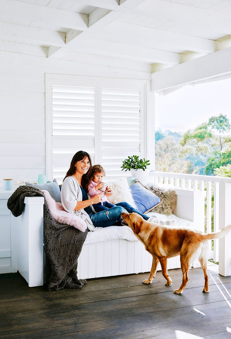 A post-war weatherboard home on Sydney's northern beaches has been transformed with rustic coastal style. Photo: Scott Hawkins | Story: homes+