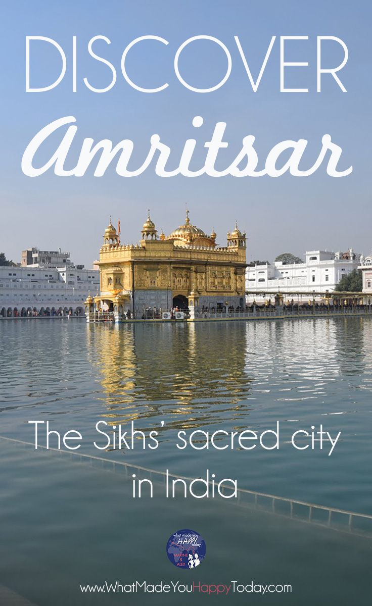 Amritsar is a fantastic city to explore during a trip in India! Its Golden Temple, full of spirituality and generosity will make you discover the Sikh religion.