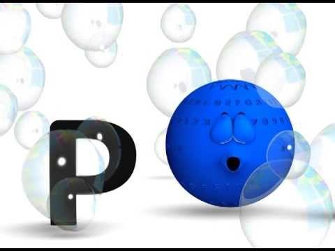 La letra P. La pelota loca