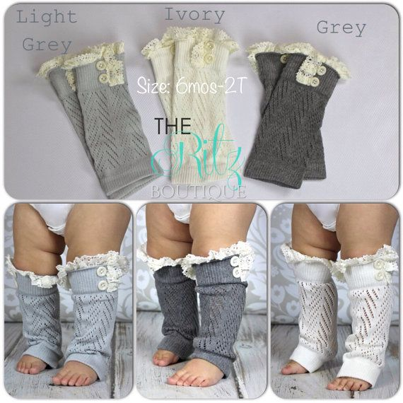 SALE Baby leg warmers baby crochet leg warmers by TheRitzBoutique