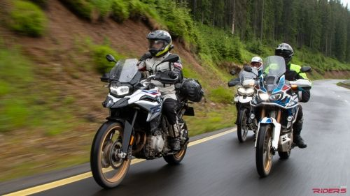 F850gs Vs Africa Twin Vs Tiger 800 Motorcycle News Touring