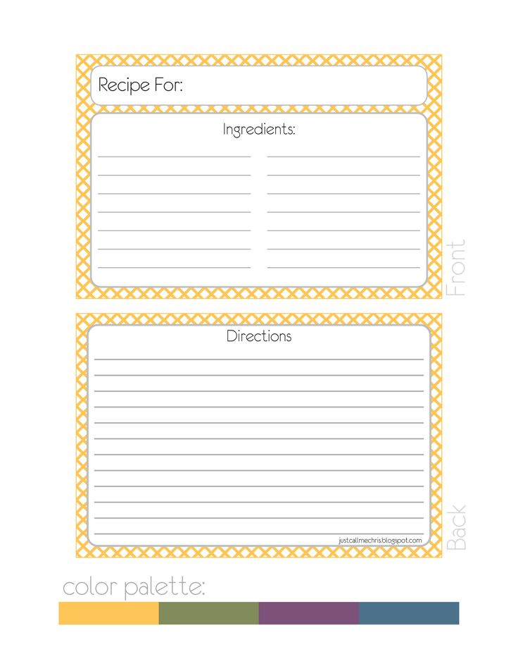 1000 ideas about recipe templates on pinterest homemade for Homemade cookbooks template