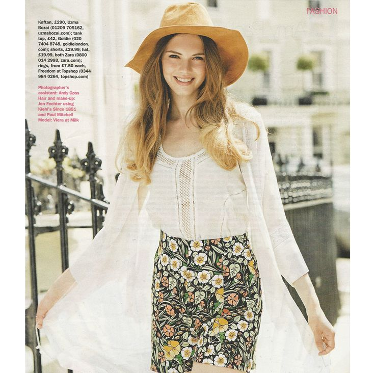 Uzma Bozai in S Magazine