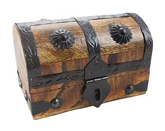Etsy Your Place To Buy And Sell All Things Handmade Old Wooden Boxes Wooden Boxes Pirate Treasure