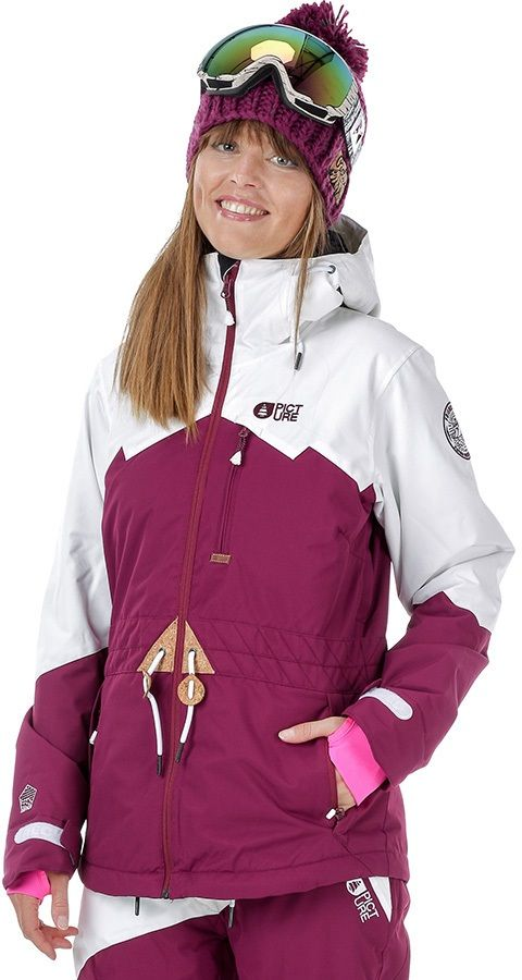 Picture Weekend Women's Ski/Snowboard Jacket, XS, Burgundy