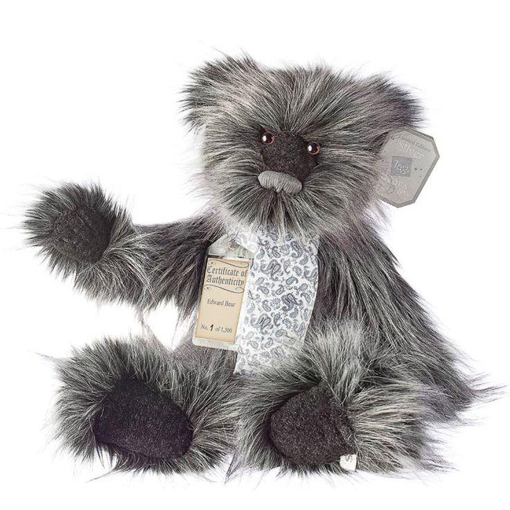 Suki Teddy Bear Edward - Silver Tag Bear - Collection 4