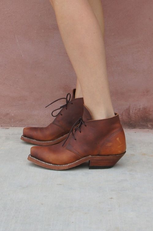 LUST: Marfa Texas, Fashion Shoes, South Highlanders, Lace Up Boots, Ankle Boots, Rocks Boots, Cobra Rocks, Highlanders Boots, Brown Boots