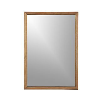 Blake Grey Wash Rectangular Wall Mirror master?