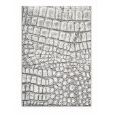 Found it at Wayfair - Mysterio Silver Checked Rug