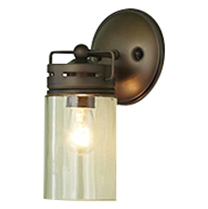 Shop allen + roth  1 Light Jar Wall Sconce at Lowe's Canada. Find our selection of wall sconces at the lowest price guaranteed with price match + 10% off.