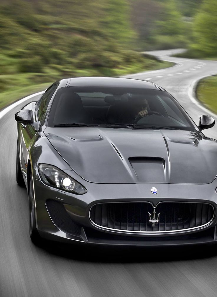 Maserati Gran Turismo. One of the best looking cars EVER MADE.