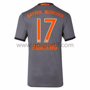 maillot de foot Bundesliga Bayern Munich 2016-17 Boateng 17 maillot extérieur