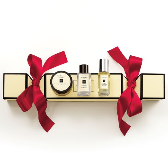 Holiday Gifts for the Beauty Junkie: Jo Malone Christmas Cracker #InStyle