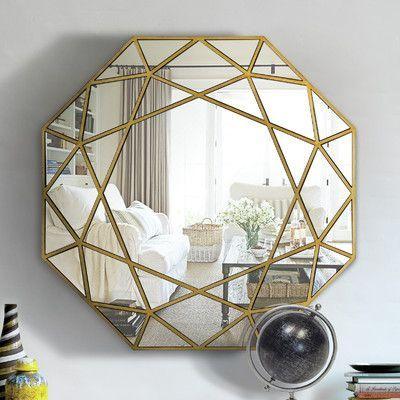 Ren-Wil Desdemona Framed Octagon Mirror