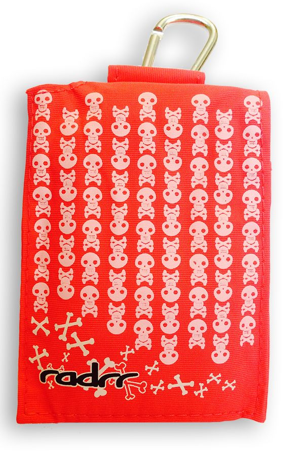 Our pink skull and bones case - for the punk girl!