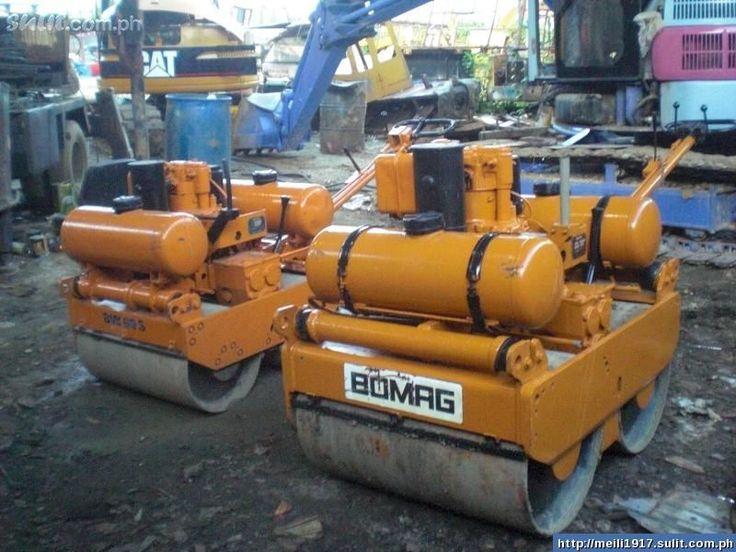 Bomag Walk Behind Compactor Roller Capacity  650kg  750kg