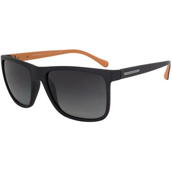 ef84937b64c6 Dolce  amp  Gabbana Wayfarer Sunglasses DG6086 2809T3 56 (375 CAD) ❤ liked  on