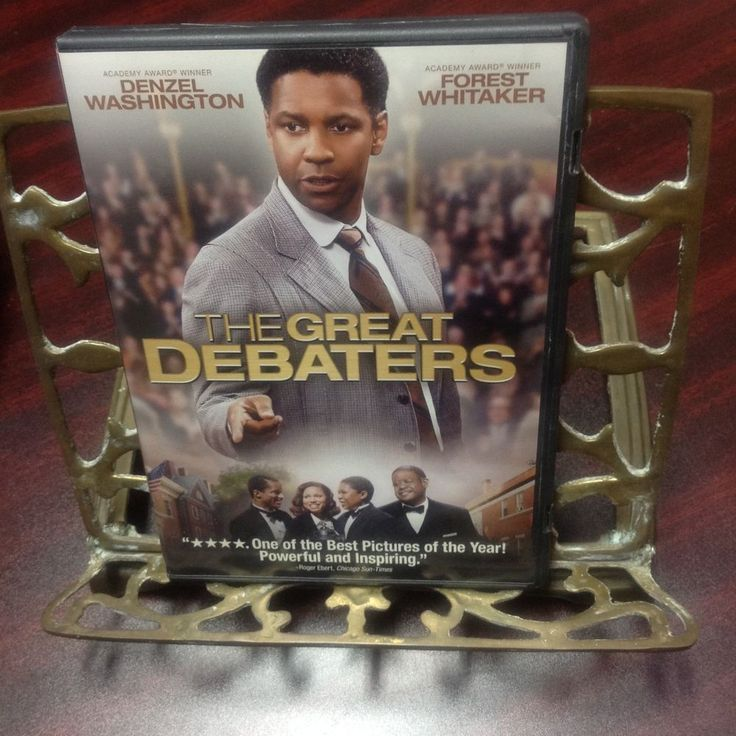 THE GREAT DEBATERS DVD, GOLDEN GLOBE NOMINEE BEST MOTION PICTURE, WIDESCREEN, PG