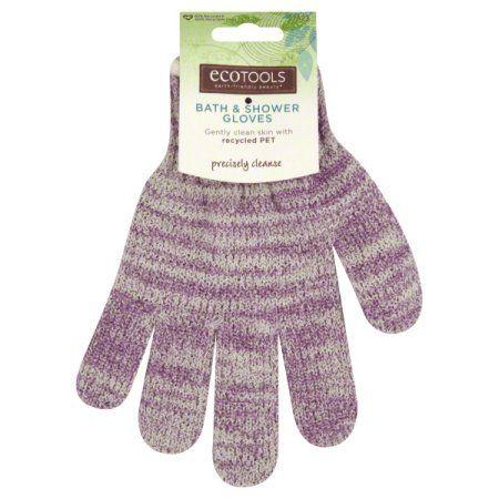 EcoTools Exfoliating Gloves, 1CT, Blue