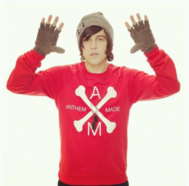 Kellin Quinn - Anthem Made:  i will buy the sweatshirt only if kellin comes with it