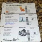How to make cute fake boarding passes for invitations or gifts