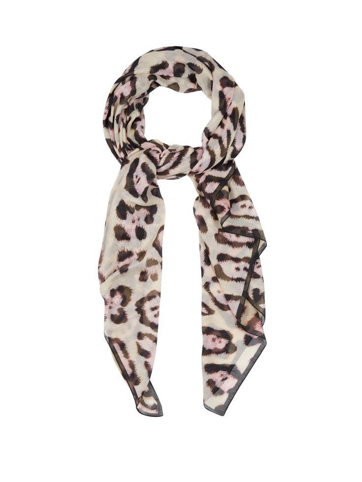 GIVENCHY Jaguar-print scarf
